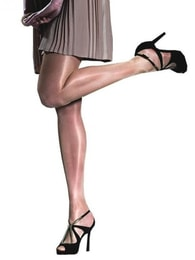 Punčochové kalhoty FIORE Idalia bílé