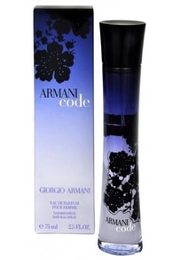 Armani Code For Women - parfémová voda s rozprašovačem