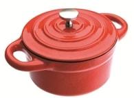 Cocotte - hrnec mini 0,3l - červený Ibili