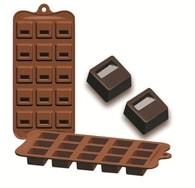 Formičky na čokoládu zámek 10,5x21cm Ibili