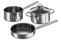 Sada nádobí nerezová – 3 dílná – SnackSet Fissler