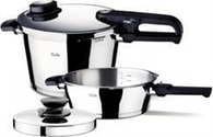 Sada - tlakový hrnec 8 l, tlaková pánev 4 l, poklice a vložka Vitavit® Premium Fissler