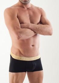 Kvalitní pánské boxerky GERONIMO 1362b1 black