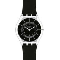 Dámské hodinky Swatch Black Classiness SFK361